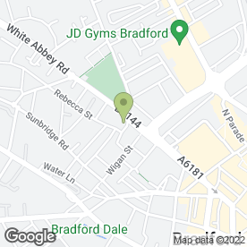 Map of Shish Mahal in Bradford, west yorkshire