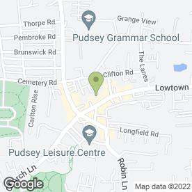 Map of Nail & Bodyworks in Pudsey, west yorkshire