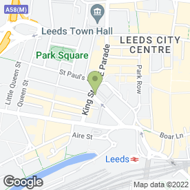 Map of Freedom Back Clinics in Leeds, west yorkshire