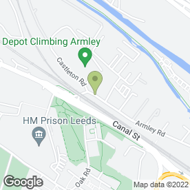 Map of Sound & Vision in Leeds, west yorkshire