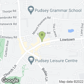 Map of Lady Grande in Pudsey, west yorkshire