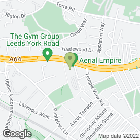 Map of Gary Don in Leeds, west yorkshire