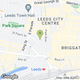 Map of Knight Frank in Leeds, west yorkshire
