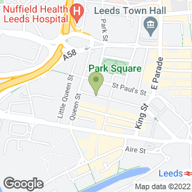 Map of Switalskis Solicitors in Leeds, west yorkshire