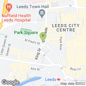 Map of Barclays Direct Mortgages in Leeds, west yorkshire