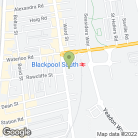 Map of Barker Booth & Eastwoodd in Lancashire, lancashire