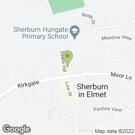 Map of FINKLE HILL DENTAL CARE in Sherburn In Elmet, Leeds, west yorkshire