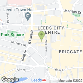 Map of La Tasca in Leeds, west yorkshire