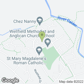 Map of Flamemanor Developments in Burnley, lancashire