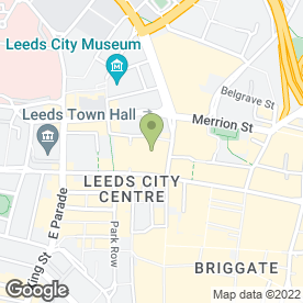 Map of Vue Cinema in Leeds, west yorkshire