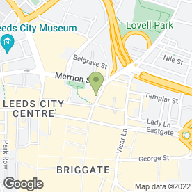 Map of The Chicken Cottage in Leeds, west yorkshire