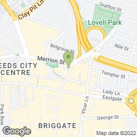 Map of M.C & J Brightbart in Leeds, west yorkshire