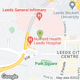 Map of Leeds Wedding Photographer in Leeds, west yorkshire