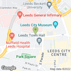 Map of Cohen Cramer Solicitors in Leeds, west yorkshire