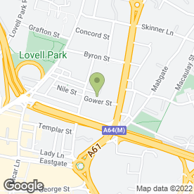 Map of Mulan Restaurant & Bar in Leeds, west yorkshire