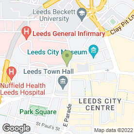 Map of Thai Edge in Leeds, west yorkshire