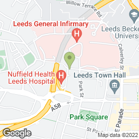 Map of Milners in Leeds, west yorkshire