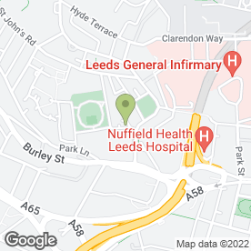 Map of Gracefields Solicitors in Leeds, west yorkshire