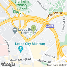 Map of Confusione Clothing Ltd in Leeds, west yorkshire