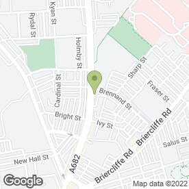 Map of Burnley Tyre & Battery Ltd in Burnley, lancashire