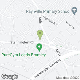 Map of Vets4Pets Bramley Leeds in Leeds, west yorkshire
