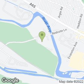 Map of Goals Soccer Centres in Leeds, west yorkshire