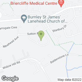 Map of Carl Dean Joinery in Burnley, lancashire