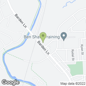 Map of Durkin Premier Landscapes in Burnley, lancashire