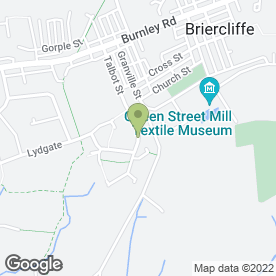 Map of Roger Taylor Kitchen Fitter & Joiner in Briercliffe, Burnley, lancashire