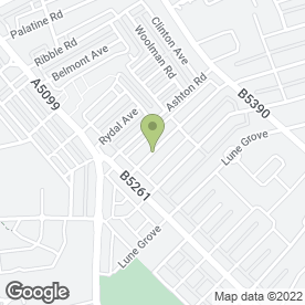 Map of Healthy Homes in Blackpool, lancashire