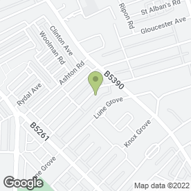 Map of Northern Aerials in Blackpool, lancashire