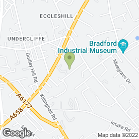 Map of ABC Plasterers in Bradford, west yorkshire