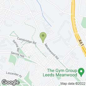 Map of Geoff's Upholstery in Leeds, west yorkshire