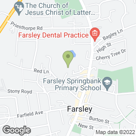 Map of The Production Company in Pudsey, west yorkshire