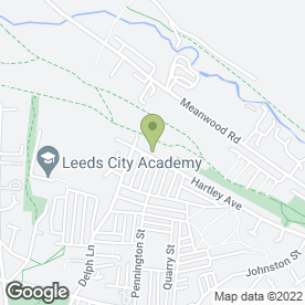 Map of Up-Routes Removals in Leeds, west yorkshire
