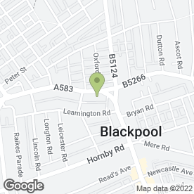 Map of Northern Security Services in Blackpool, lancashire