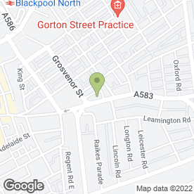 Map of Studio D Photography in Blackpool, lancashire