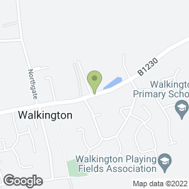 Map of The Barn House in Walkington, Beverley, north humberside
