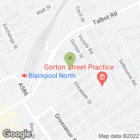 Map of G.N Hadley & Co.Ltd in Blackpool, lancashire