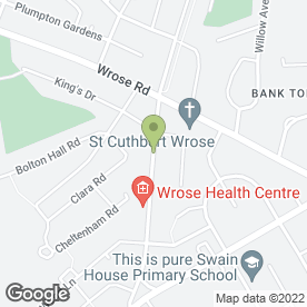 Map of ADELE LOUISE BEAUTY STUDIO in Bradford, west yorkshire