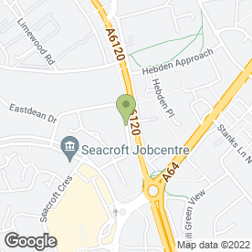 Map of Pondcare & Landscape Services Ltd in Leeds, west yorkshire