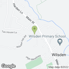 Map of Airedale Veterinary Group in Bradford, west yorkshire