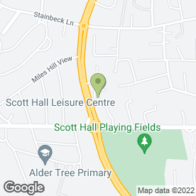 Map of Leeds Traditional Martial Arts in Leeds, west yorkshire