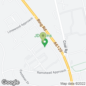 Map of Lionel D Levine Robinson & Gregory in Leeds, west yorkshire