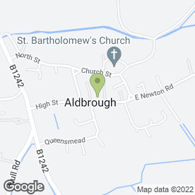 Map of Aldbrough Primary School in Aldbrough, Hull, north humberside