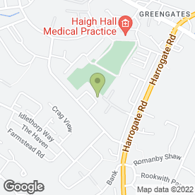 Map of Greengates School of Motoring in Bradford, west yorkshire