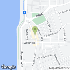 Map of Wedding Studio in Blackpool, lancashire