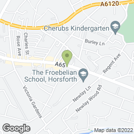 Map of Meridian Security Systems Ltd in Leeds, west yorkshire