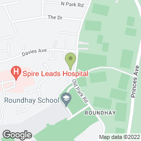 Map of Project 360 Joinery in Roundhay, Leeds, west yorkshire