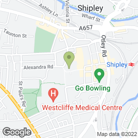 Map of Securemove Property Services in Shipley, west yorkshire